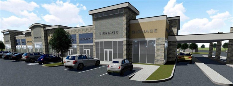 Weitzman leasing new retail center in Mesquite