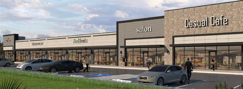 Weitzman pre-leasing new Houston retail center