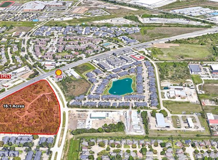 Pre-Leasing of 16 Acre Development - Hwy 6 & Huffmeister