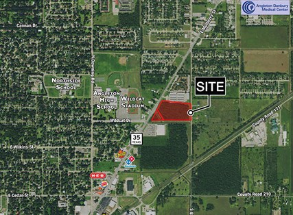 11.683 Acres - Hwy 35 & Wildcat Drive