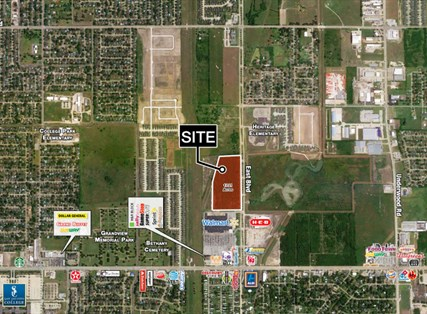 17.2 Acres - Spencer Highway & East Blvd