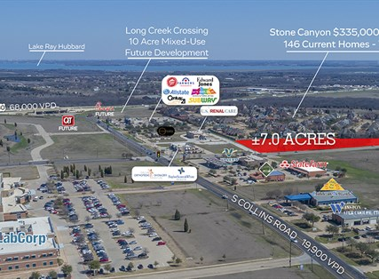 NEQ S Collins Road & Clay Road | 7.0 Acres